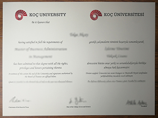 Fake Koç University diploma in Turkey, buy Koç Üniversitesi degree