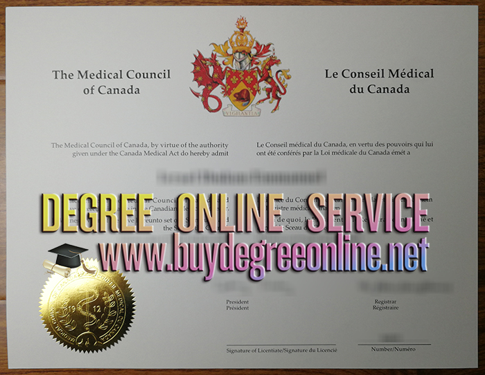 Medical Council of Canada certificate