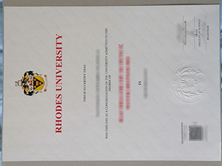 How easy to buy a fake Rhodes University diploma from South Africa