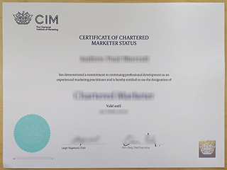 Where to get a fake Chartered Institute of Marketing certificate, buy CIM diploma