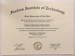 How much to buy a realistic Fashion Institute of Technology diploma