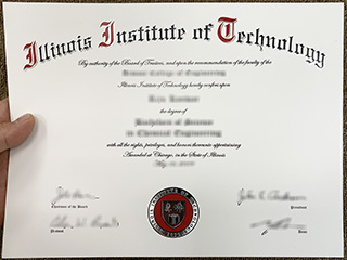 How safe to get a fake Illinois Institute of Technology diploma online