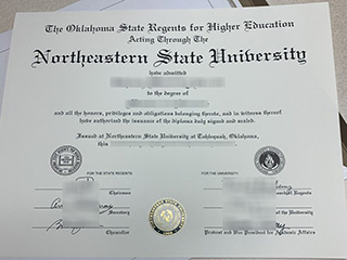 Where to order a realistic Northeastern State University diploma online