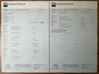Looking for a fake Academic transcript from QUT Australia online