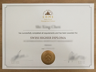 Order a realistic SHMS certificate, buy Swiss higher diploma online