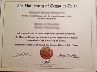 Where to get a realistic University of Texas at Tyler diploma online
