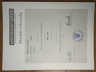 Where to buy a fake Universität Leipzig M.Sc. degree in Germany