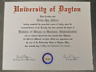 Where to buy a realistic University of Dayton diploma in the USA