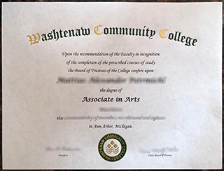 How to get a fake Washtenaw Community College Associate degree