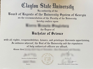 How to get a fake Clayton State University BSc degree in the US