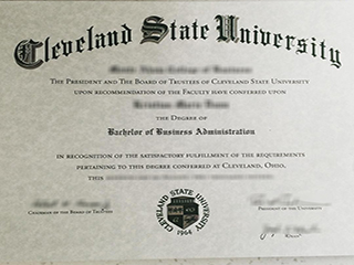 How to replicate a Cleveland State University BBA degree online