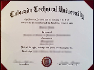 Where to get a realistic Colorado Technical University degree online