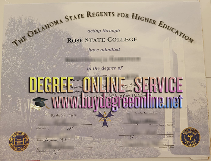 Rose State College degree