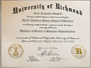 How much to buy a phony University of Richmond BBA degree online