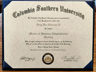 Who can make a phony Columbia Southern University degree online?