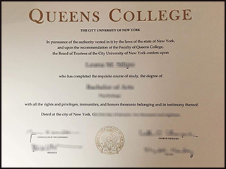 Where to get a phony Queens College City University of New York dipoma
