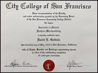 City College of San Francisco fake degree, buy CCSF diploma online