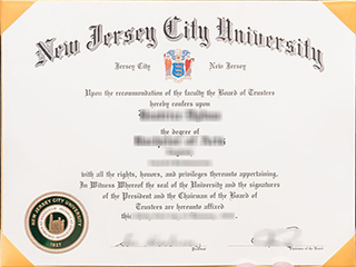 Can you get a fake NJCU degree? buy New Jersey City University diploma