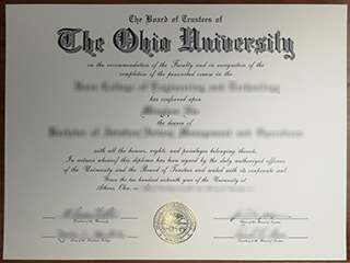 Order a phony The Ohio University degree safely online, buy US diploma