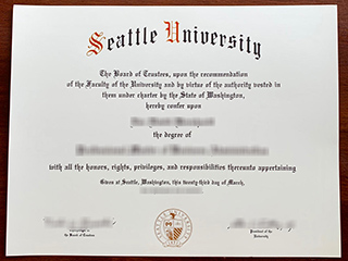How to order a phony Seattle University degree online