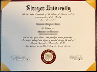 How long to get a realistic Strayer University Bachelor degree online