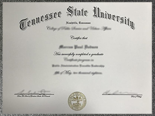How much to buy a fake Tennessee State University degree online