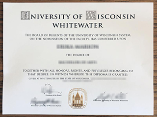 I would like to buy a fake UW Whitewater degree, get UW diploma