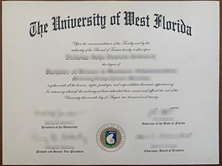 Could I order a fake University of West Florida degree online?