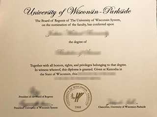 How much to order a fake UW Parkside degree in the US