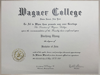 Buy fake Wagner College degree, get a phony USA diploma online