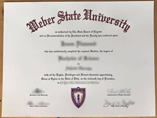 How much to buy a realistic Weber State University degree in the US