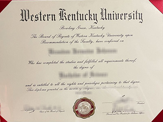 Can I buy a fake Western Kentucky University degree online?