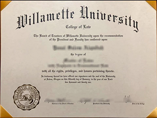 Would like to get a fake Willamette University degree online