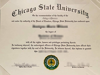 Get a fake Chicago State University diploma, buy CSU degree in the US