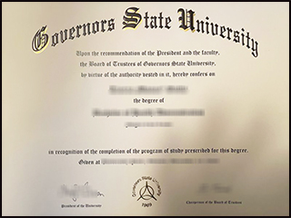 Purchase a fake Governors State University degree, buy GSU diploma