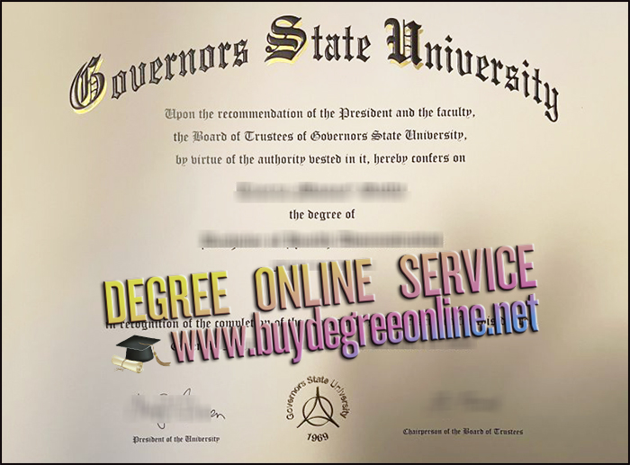 Governors State University degree